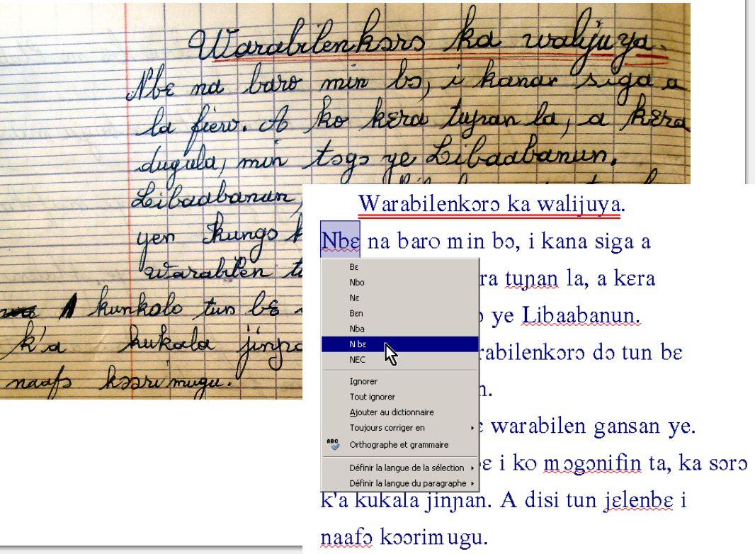 V rificateur orthographique pour le bambara apache - Correcteur orthographique open office ...